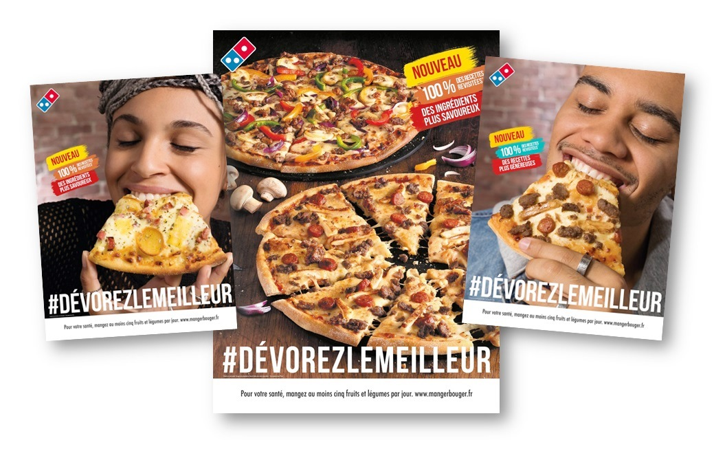 actions marketing et digital franchise domino's pizza