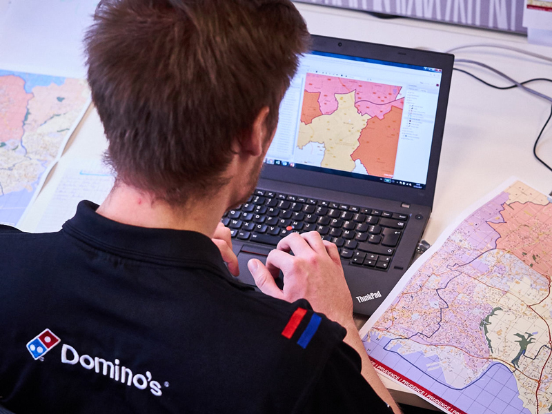 formation étude commerciale domino's pizza