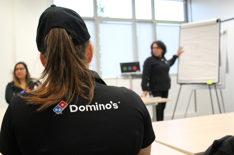 recrutement et formation franchise domino's pizza