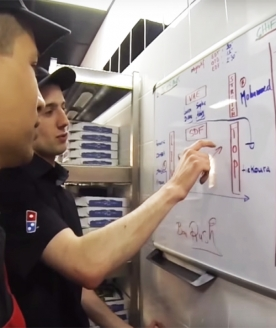 Fiche métier manager domino's pizza